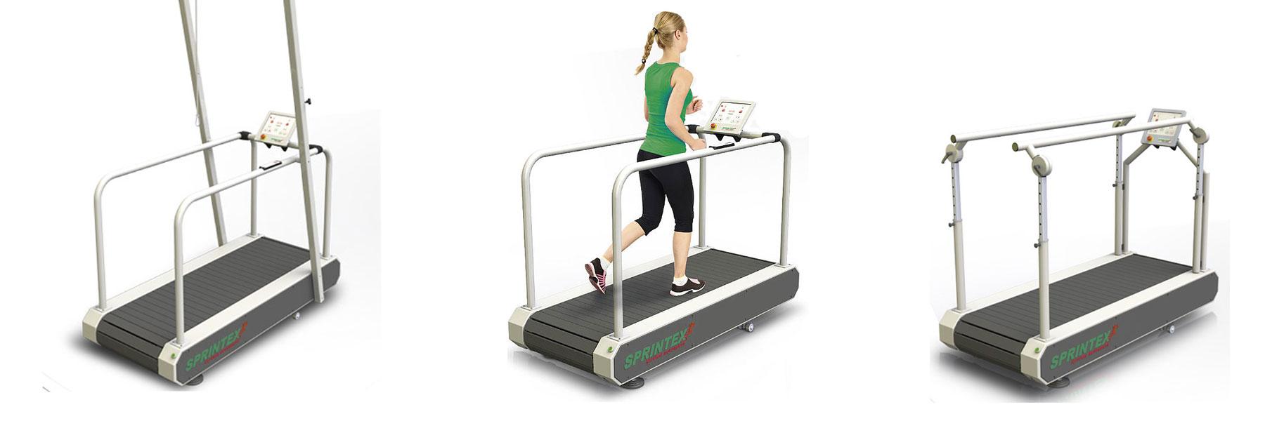 Sprintex Ortho Treadmill for Running Gait Analysis