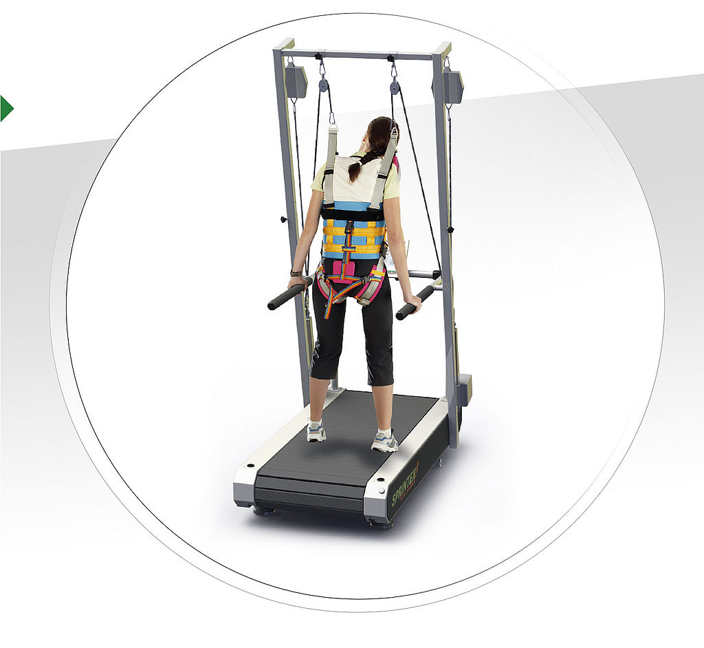 Sprintex Treadmill with Harness